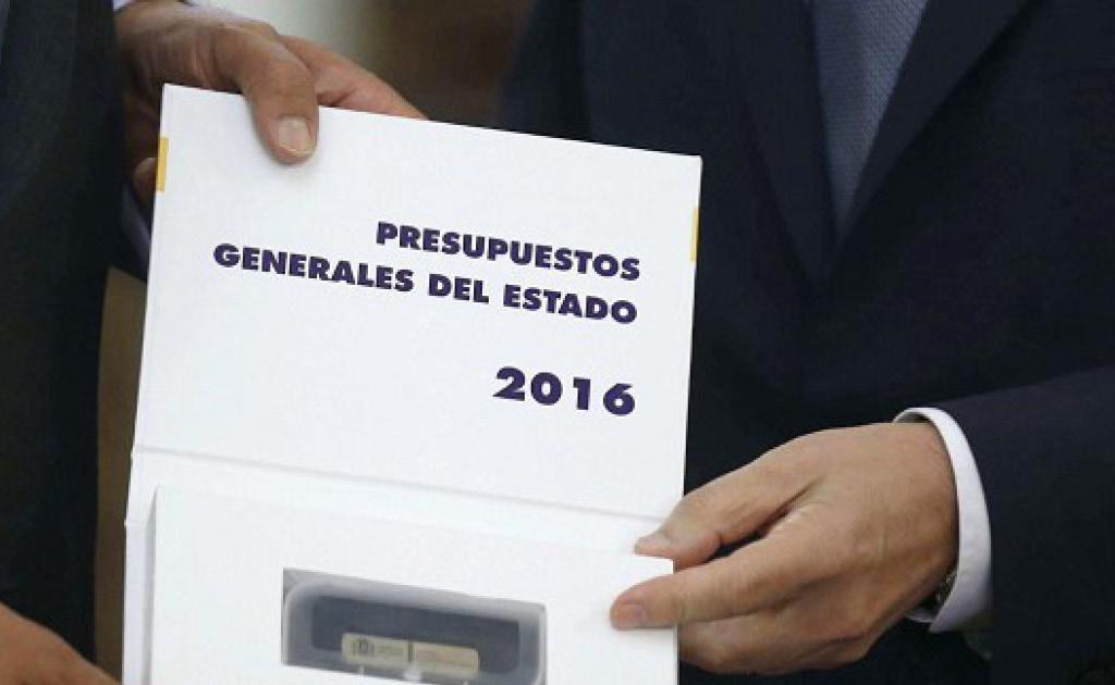 Resum de la Llei 48/2015 de Pressupostos Generals de l'Estat per al 2016