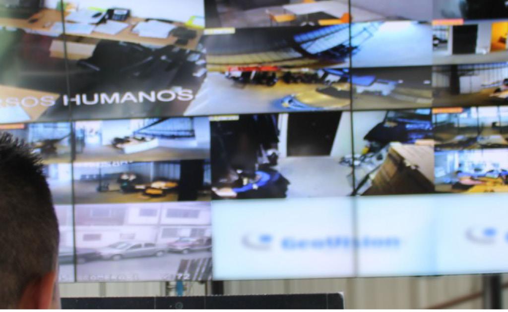 Càmeres de videovigilància a l'empresa